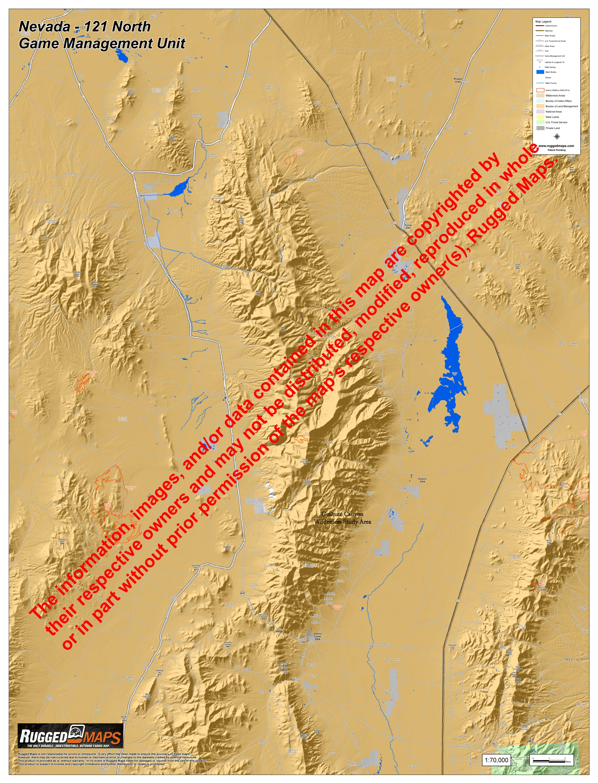 Nevada Hunt Unit 121 North