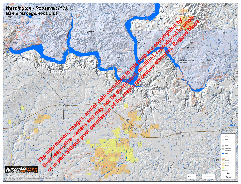 Wa GMU 133 Roosevelt Map Customization on