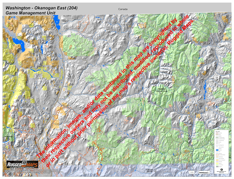 Wa GMU 204 Okanogan East