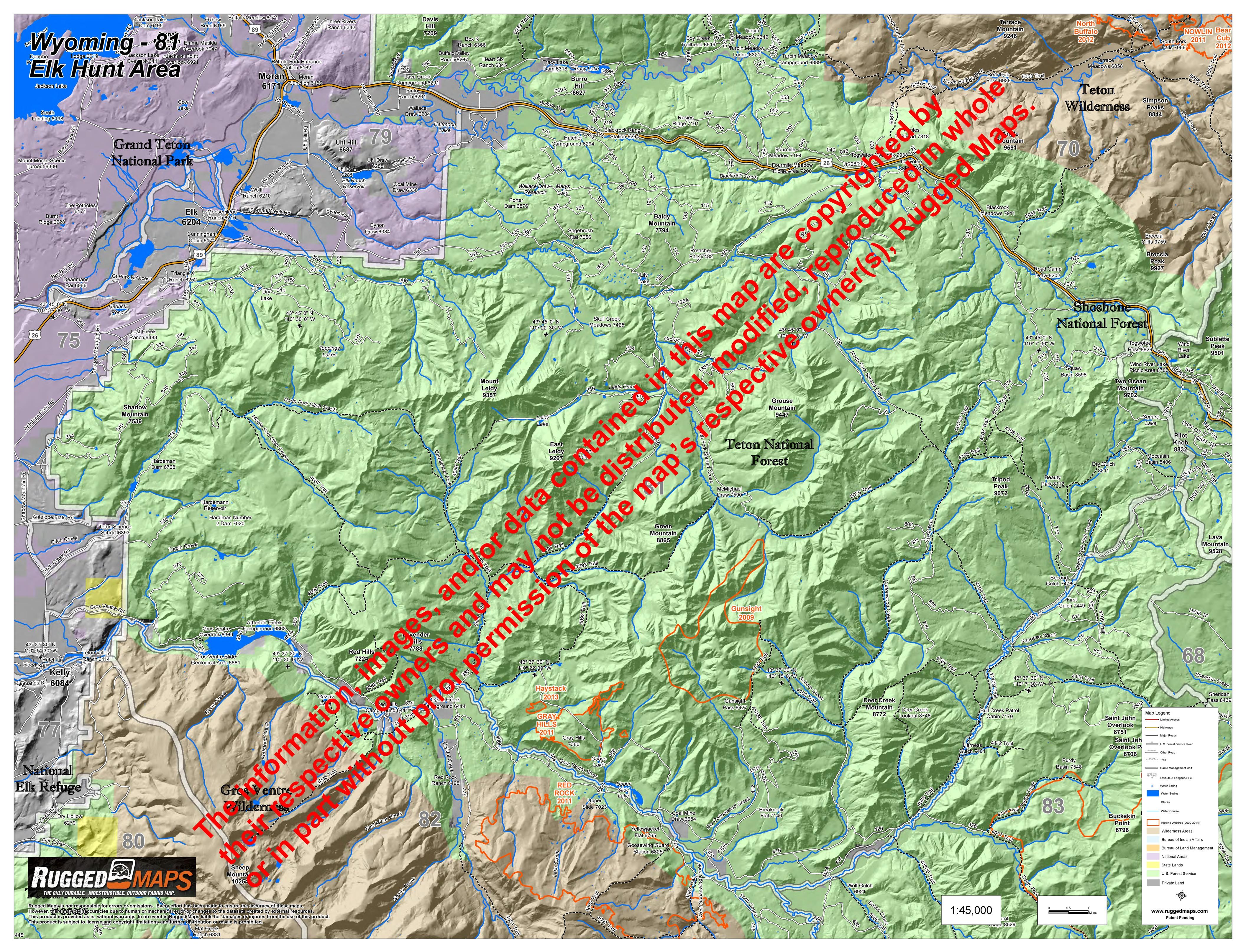 Elk Hunt Area 81 - Spread Creek